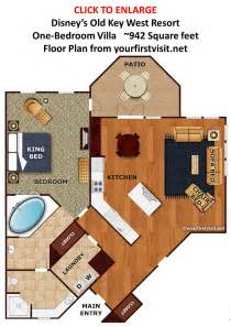 living room floor plans overview of accomodations at disney 39 s key west resort