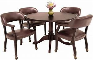 Round Conference Table And 4 Chairs - OfficePope com