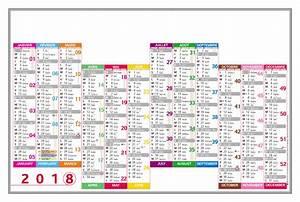 Calendrier Par Mois : calendrier 2018 grand format ~ Dallasstarsshop.com Idées de Décoration