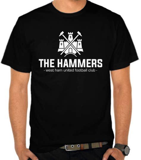 jual kaos west ham united the hammers sepak bola satubaju