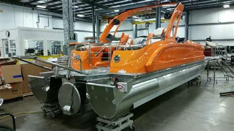 manitou pontoons xt twin engine boats  sale