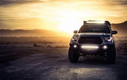 Toyota Tacoma Suv 4k Background Headlight Ultra