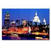 LONDON SKYLINE AT NIGHT Canvas