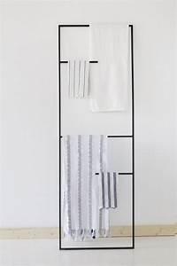 Echelle Porte Vetement : in 7 stappen een stoere badkamer roomed ~ Nature-et-papiers.com Idées de Décoration