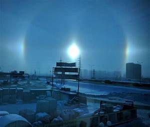 Mysterious three sun phenomenon (sundogs) during polar ...
