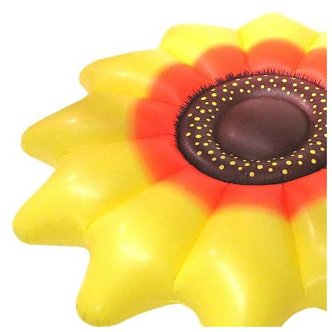 swimline giant inflatable 72 inch sunflower float 4 pack