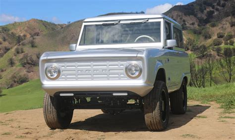 labs electric ford bronco cool material