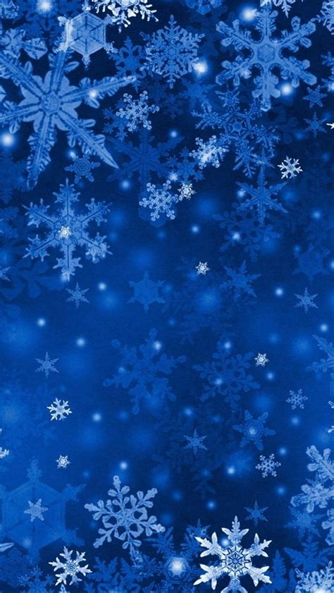 snowflake iphone wallpaper blue snowflakes iphone 5 wallpapers hd