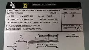 75kva Three Phase 208v Delta To Three Phase 208v Y Transformer Wiring  Results