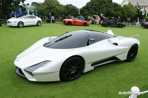 Shelby Supercars Ssc Tuatara Looks The Part On The Concept