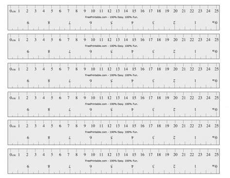 printable ruler inches  cm printable ruler printable