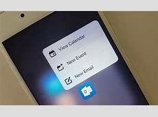 Microsoft Outlook for iOS gets 3D Touch support, email