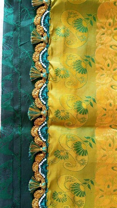 latest simple pattu silk saree kuchulu fashion beauty