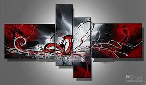 Hand painted hi q modern wall art home decorative abstract for Kitchen colors with white cabinets with large abstract canvas wall art