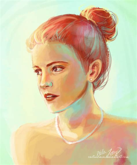 Emma Watson Paintings
