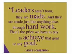 Leadership Quotes By Vince Lombardi. QuotesGram