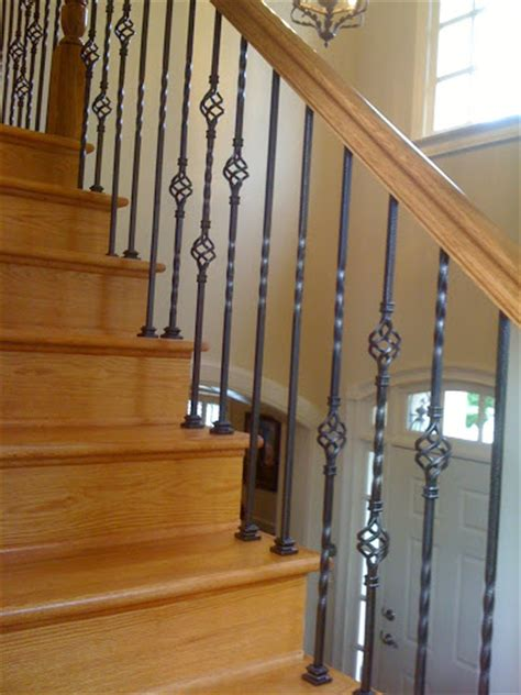 iron balusters stair solution residential