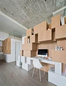 Rangement Sous Bureau : r novation loft avec un escalier astucieux et commode ~ Teatrodelosmanantiales.com Idées de Décoration