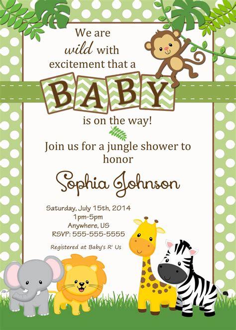 safari baby shower invitations google search baby