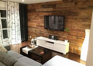 Mur En Bois Intérieur Decoratif : chic o bois les sp cialistes du bois de grange ~ Teatrodelosmanantiales.com Idées de Décoration