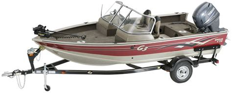 Tracker Boats Reliability by Research G3 Boats V 172f Multi Species Fishing Boat On
