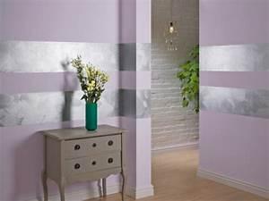 Flur Wandgestaltung Ideen : wandfarbe mit einem metalleffekt super coole bilder ~ Markanthonyermac.com Haus und Dekorationen