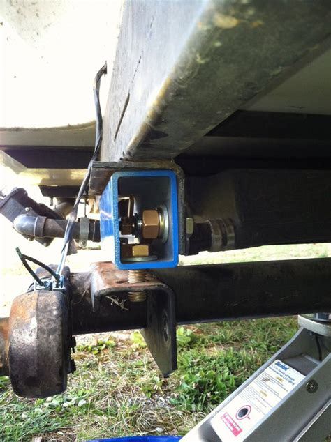 Boat Trailer Axle Lift by Torsion Axle Lift Kit Airstream Forums Cer