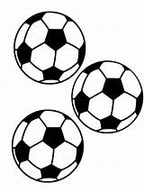 Soccer Ball Coloring Balls Pages Printable Sports Football Drawing Template Plate Boys Clip Clipart Nike Getdrawings Clipartmag Stickers Insert Getcolorings sketch template