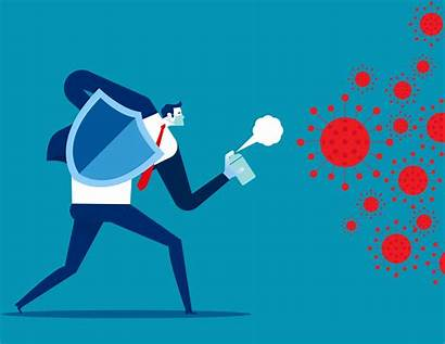Covid Fighting Virus Vector Pandemic Hr Clipart