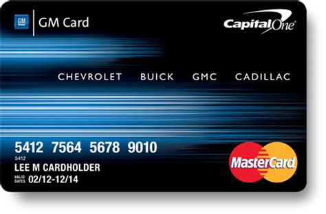 Gm Credit Card