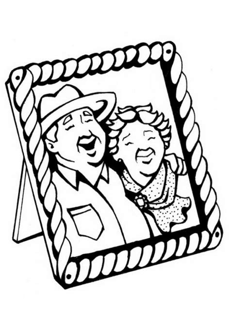 grandparents day coloring pages  print  color family holidaynetguide  family holidays