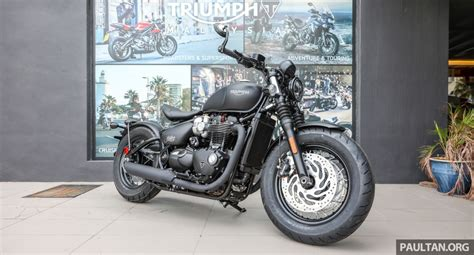 2018 Triumph Bobber Black, Speedmaster, Tiger 800 Xc And