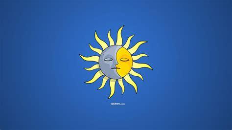 Sun And Moon Desktop Wallpaper
