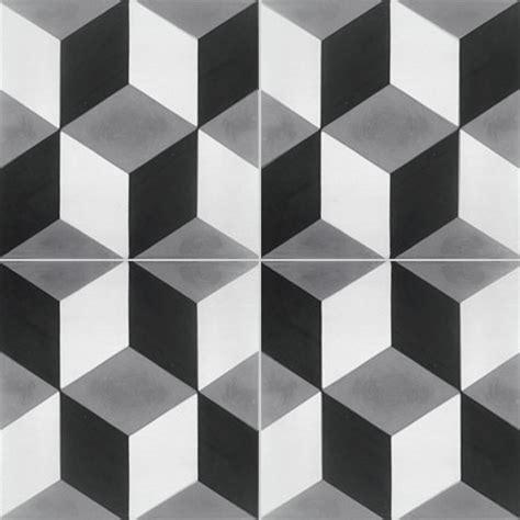 carrelage damier noir et blanc cuisine carreaux de ciment les motifs couleurs matières