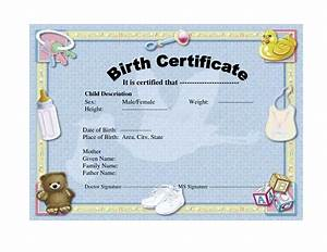 best photos of blank birth certificate template printable With boy birth certificate template