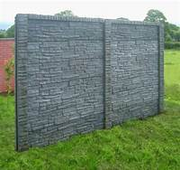 decorative fence panels Decorative garden fence panels and walls with natural stone