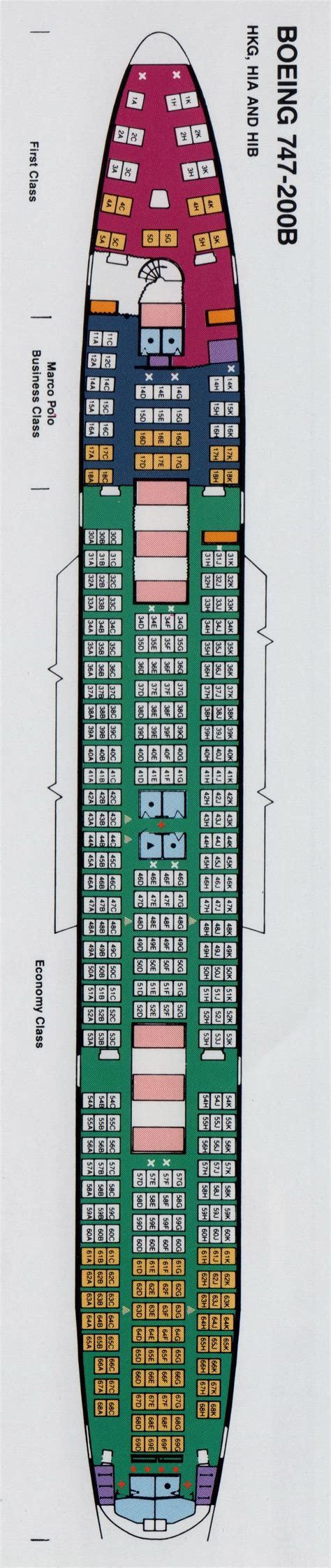 Cathay 77w seating chart