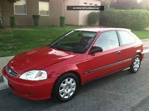 1999 Honda Civic : 1999 honda civic dx hatchback red 3 door 1 6l ~ Medecine-chirurgie-esthetiques.com Avis de Voitures