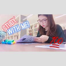 Finals Week (study With Me!)  Med School Student Life  Twinklinglena Youtube