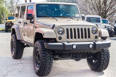 open jeep wrangler 2016 jeep wrangler rubicon unlimited mojave sand