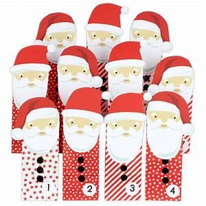 Adventskalender Zum Befüllen : diy adventskalender weihnachtsm nner mit roten t ten f r kinder zum selber basteln zum ~ Orissabook.com Haus und Dekorationen