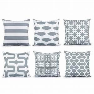 Aliexpresscom buy topfinel geometric cushion cover for Cheap gray throw pillows