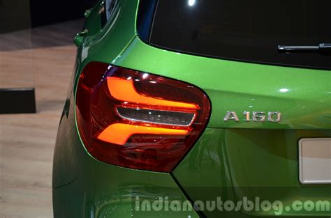 India-bound 2016 Mercedes A Class (facelift) Taillamps At