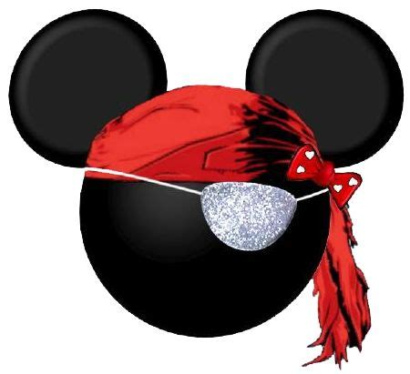 minnie mouse pirate clipart disney pinterest mickey