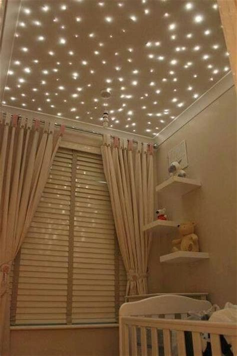 twinkle lights on ceiling home sweet home