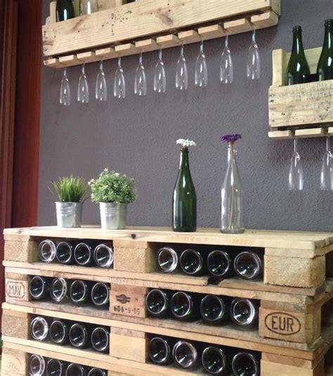 chambrer un vin 1000 idées sur le thème casiers à bouteilles palette sur