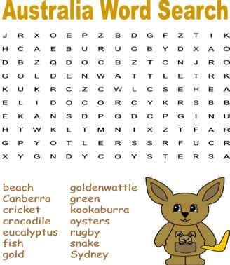 australia word search puzzles bookclub
