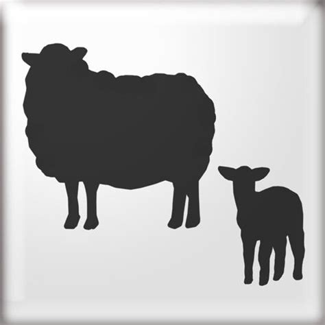 silhouette  sheep google search nativity sheep