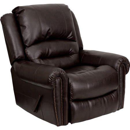 Recliner Chair Walmart by Flash Furniture Dsc01056 Leather Rocker Recliner Walmart