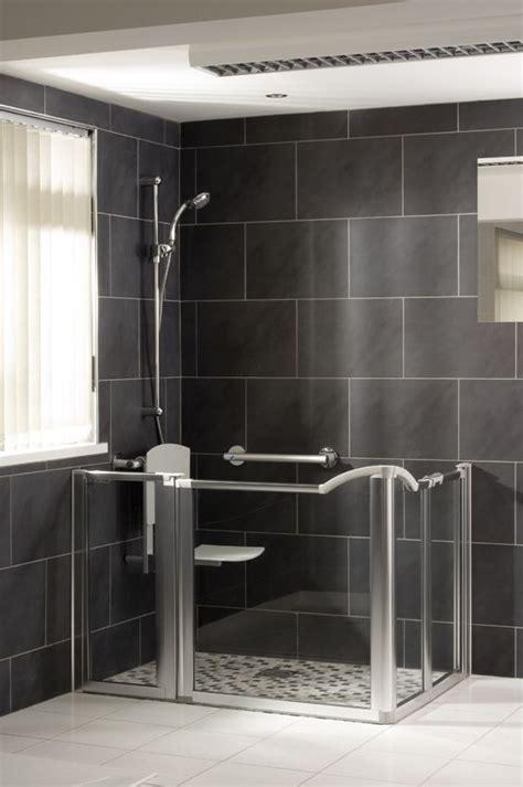 handicap walk in shower 206 best interior design for seniors images on
